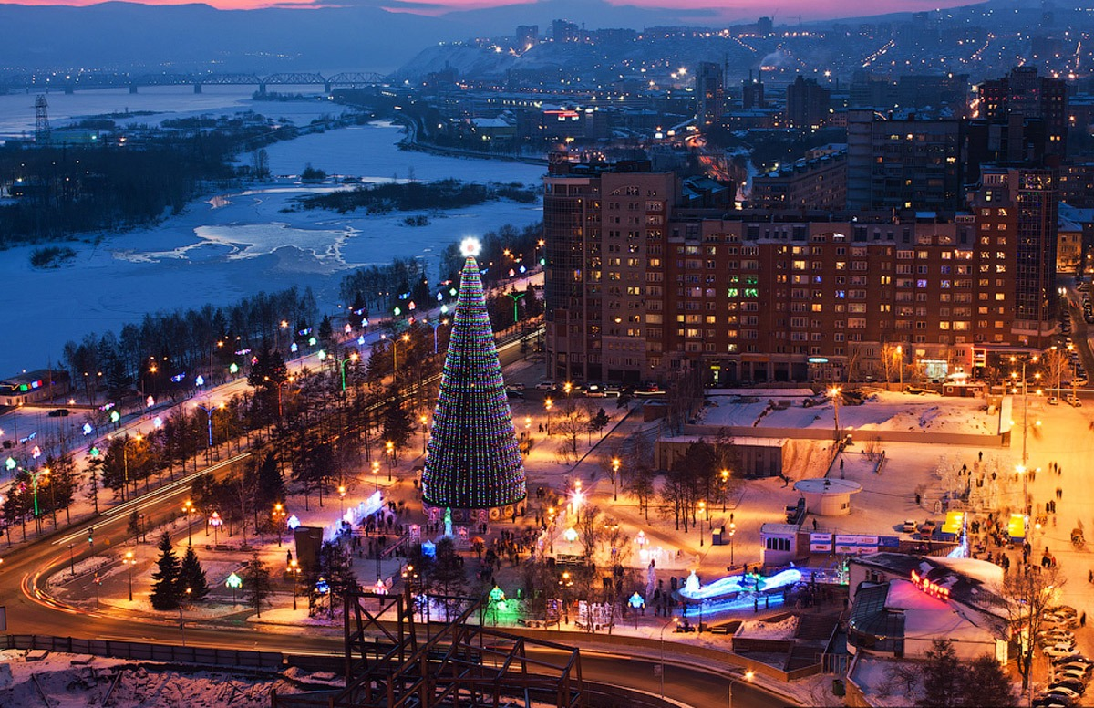 Парки Красноярска