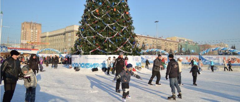 Ледовые катки в Новосибирске в 2019/2020 — расписание и цены