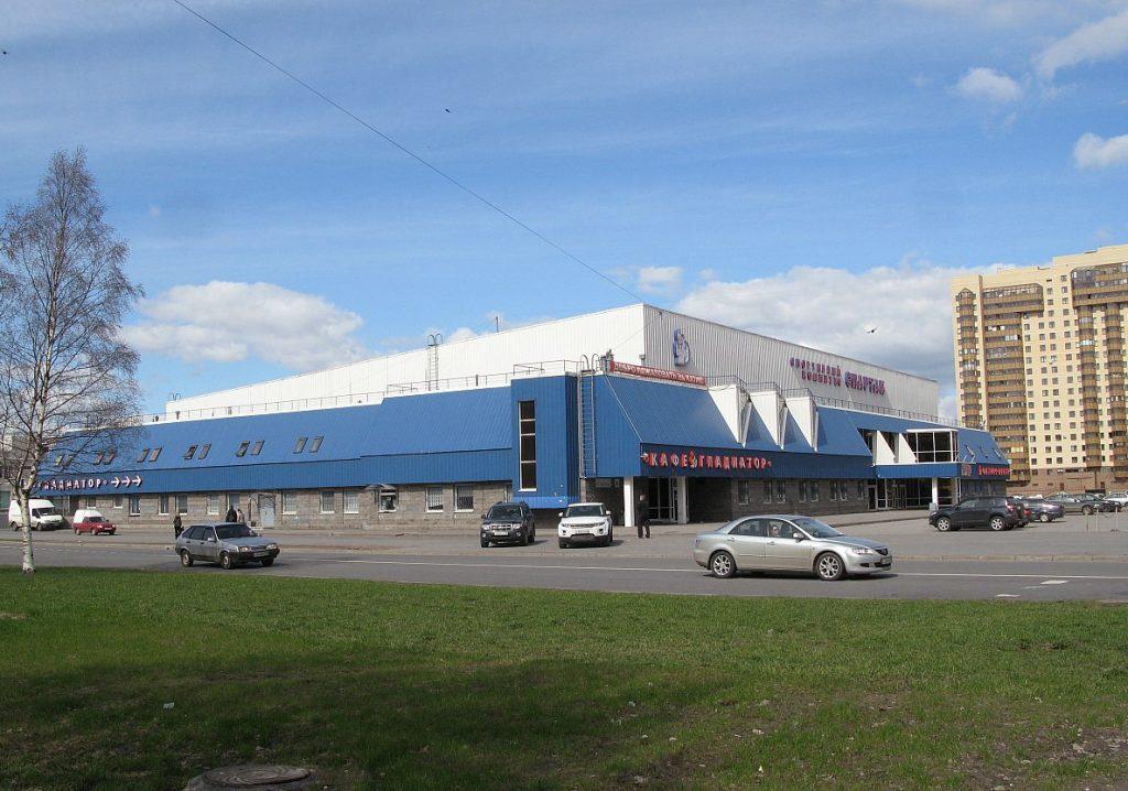 Каток на стадионе «Спартак»