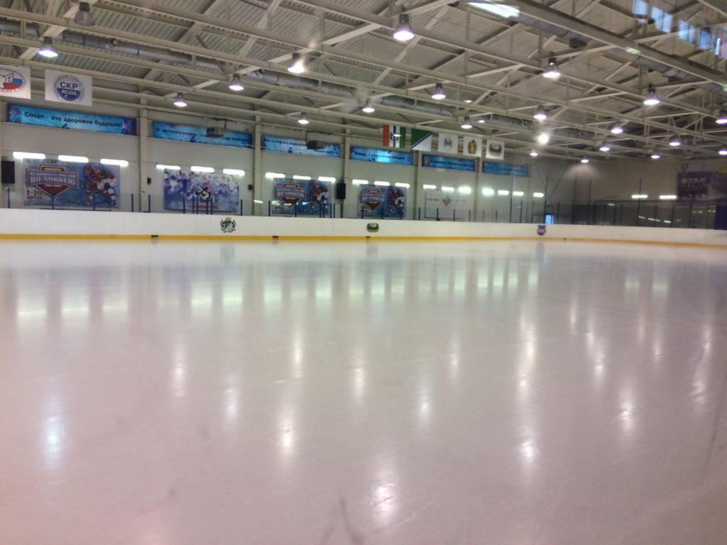 Ледовый дворец спорта «Ледовая арена» Новосибирск