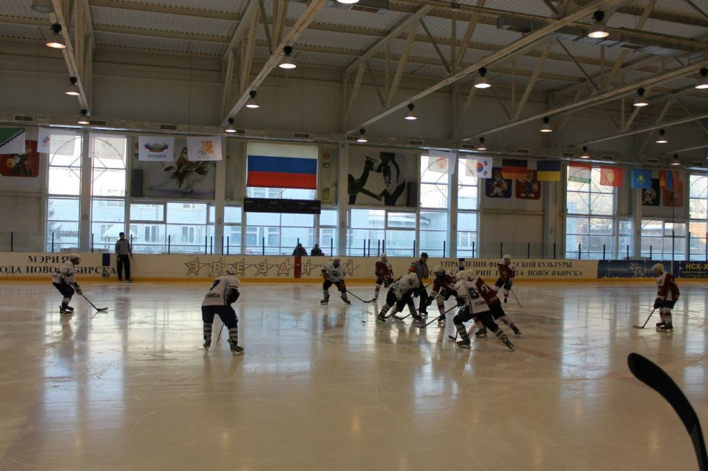 Ледовый дворец спорта «Звездный» Новсибирск