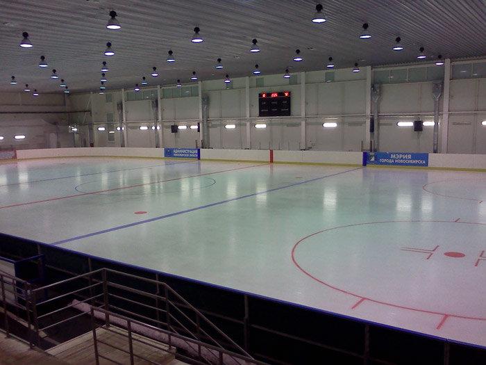 Ледовый спортивный комплекс «Локомотив» Новосибирск