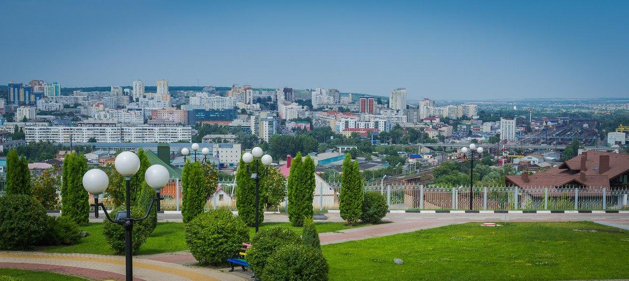 Парки и бульвары Белгорода