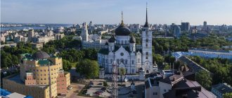 Парки сады и скверы Воронежа