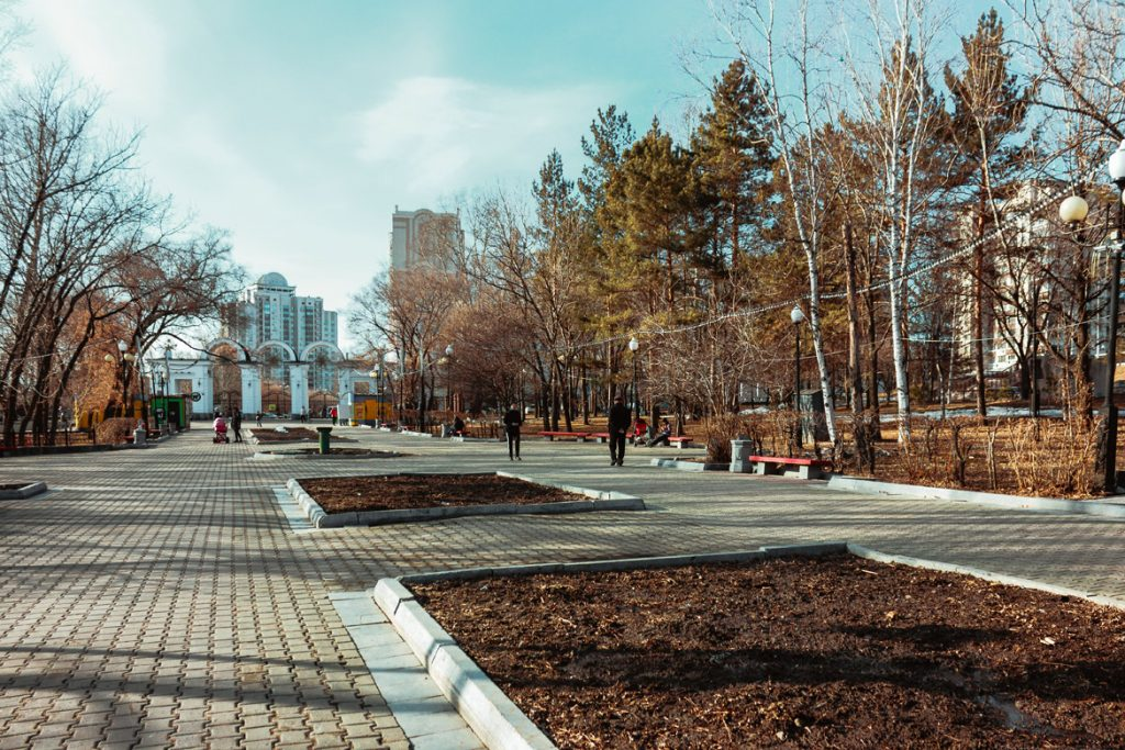 фото парк динамо хабаровск отец
