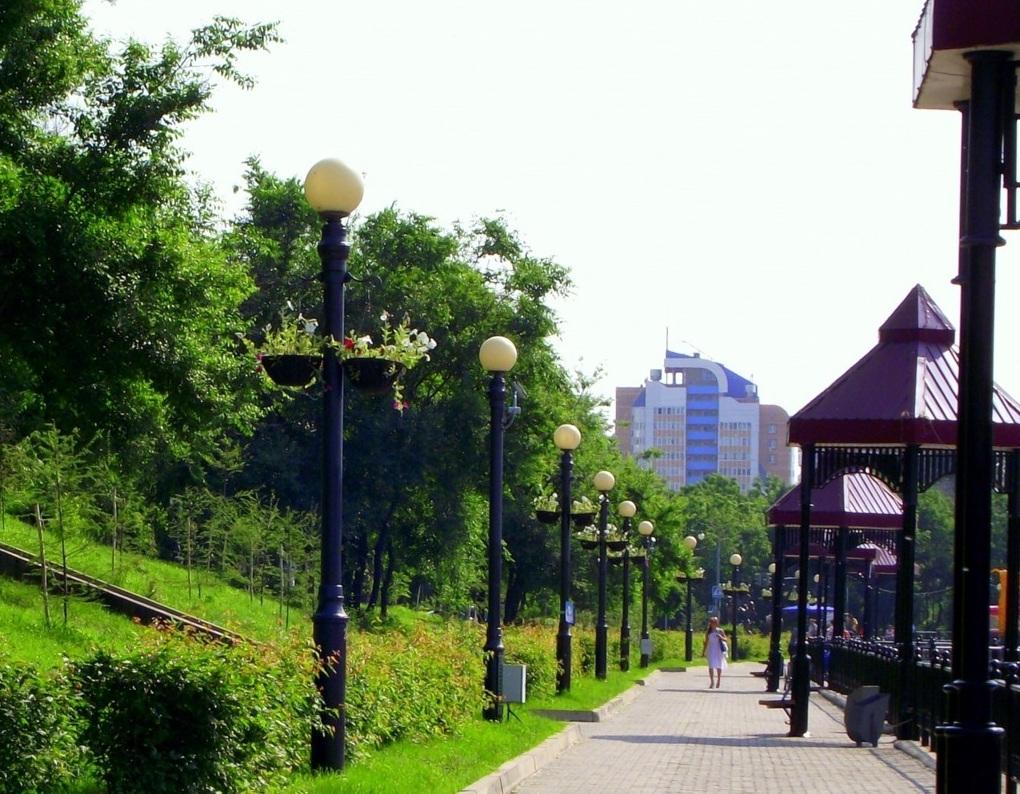 соответственно центральный парк хабаровска фото много