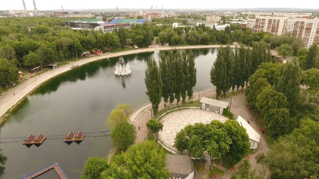 Картинки парк металлургов