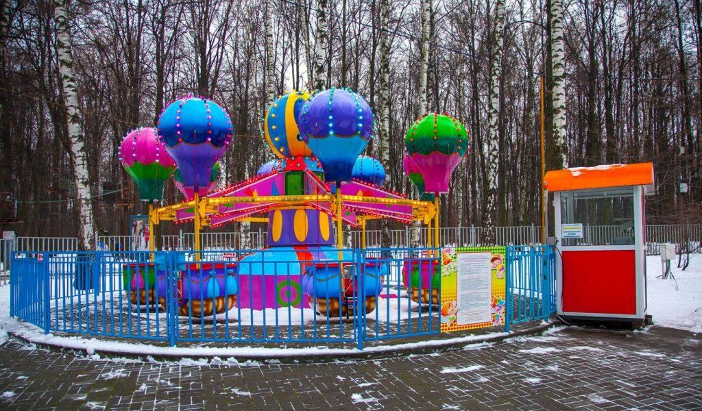 Парк аттракционов в москве измайлово фото