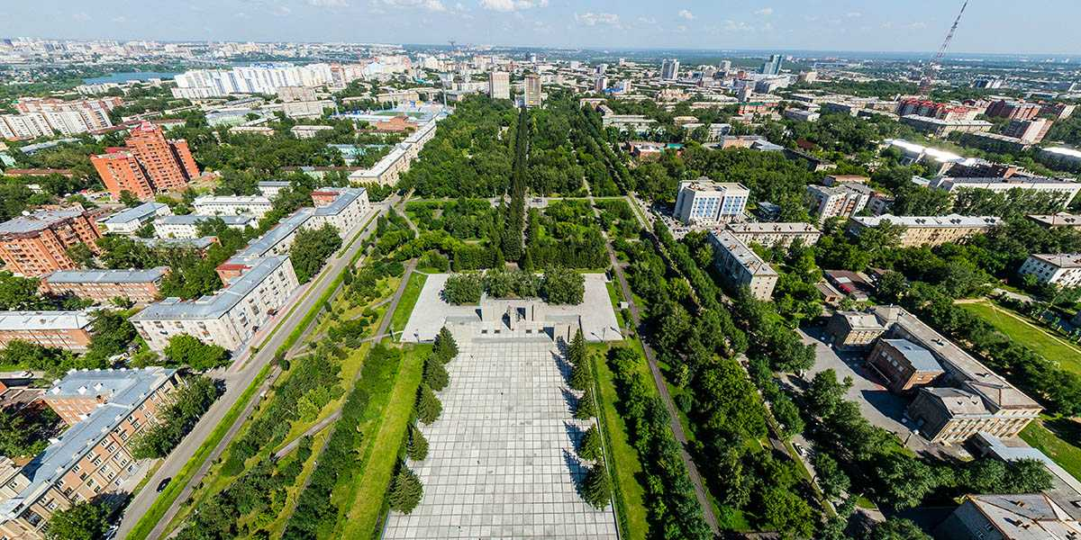 Парки Барнаула