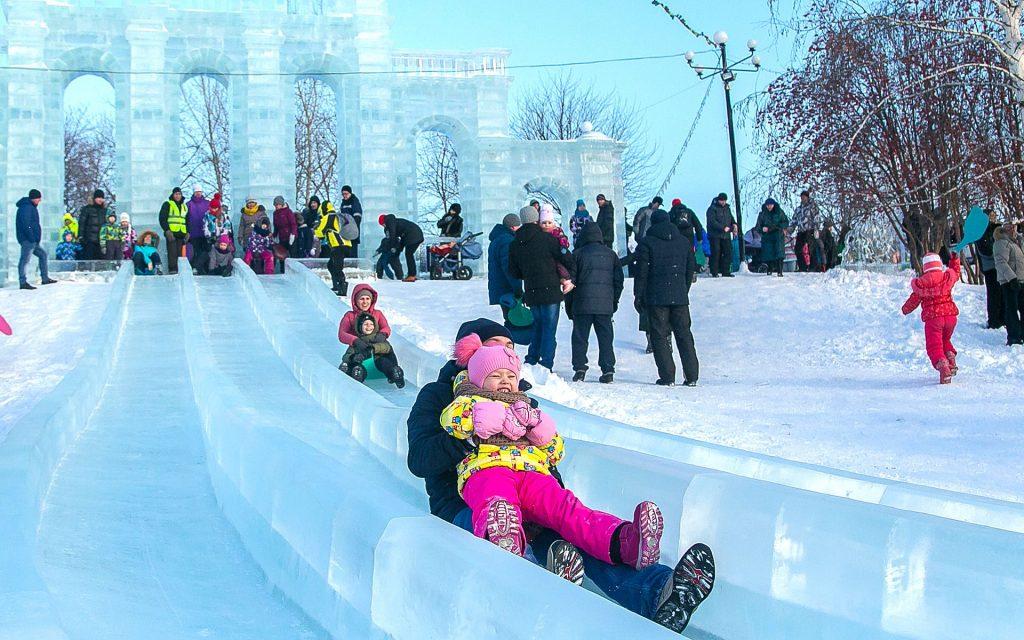 Ледовый городок Новосибирск