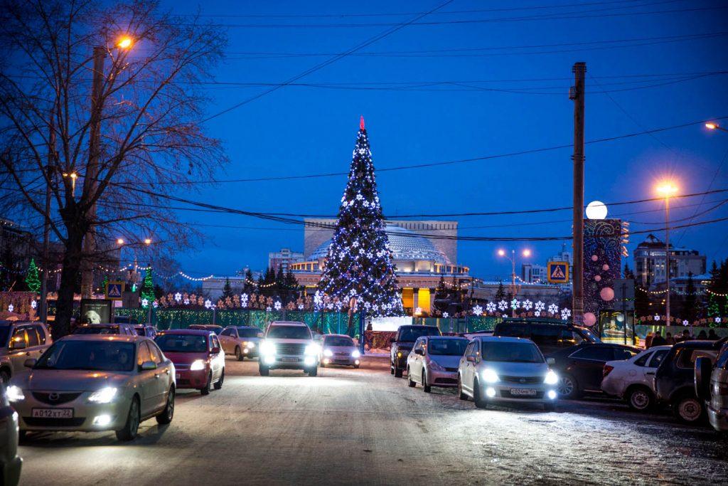 Новогодний Новосибирск 2