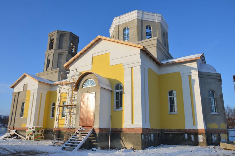 Храм в честь святого равноапостольного князя Владимира