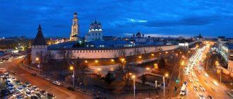 Панорама ночной Астрахани