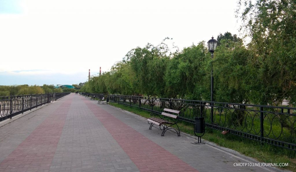 Чеховская набережная Таганрога