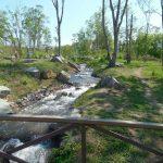 Река из которой получается водопад
