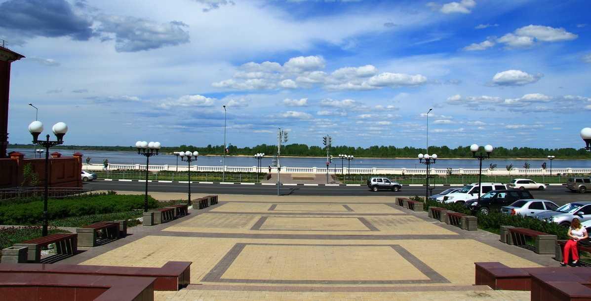 набережная Нижнего Новгорода