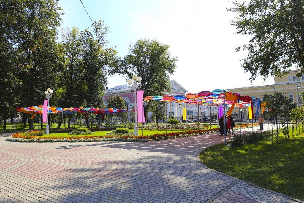 Инфраструктура набережной Михаила Ярославича