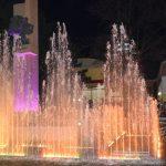 3D фонтан на набережной Евпатории