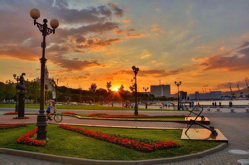 Особенности набережной Новороссийска