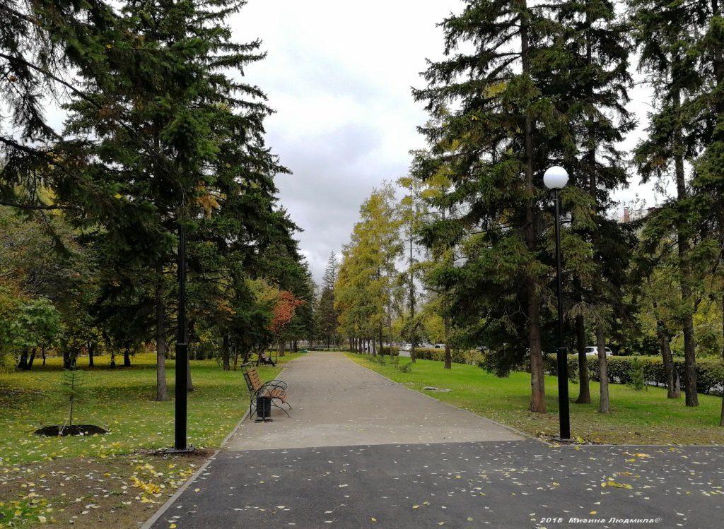 Бульвар Гагарина в Иркутске 3