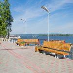 Набережная Нижнекамска р. Кама
