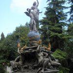 Фонтан «Богиня Ночь» Гурзуф