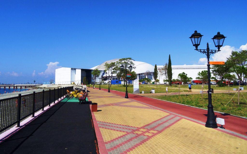 Имеретинская Набережная (Олимпийская) в Адлере