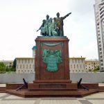 Монумент в честь основателей города