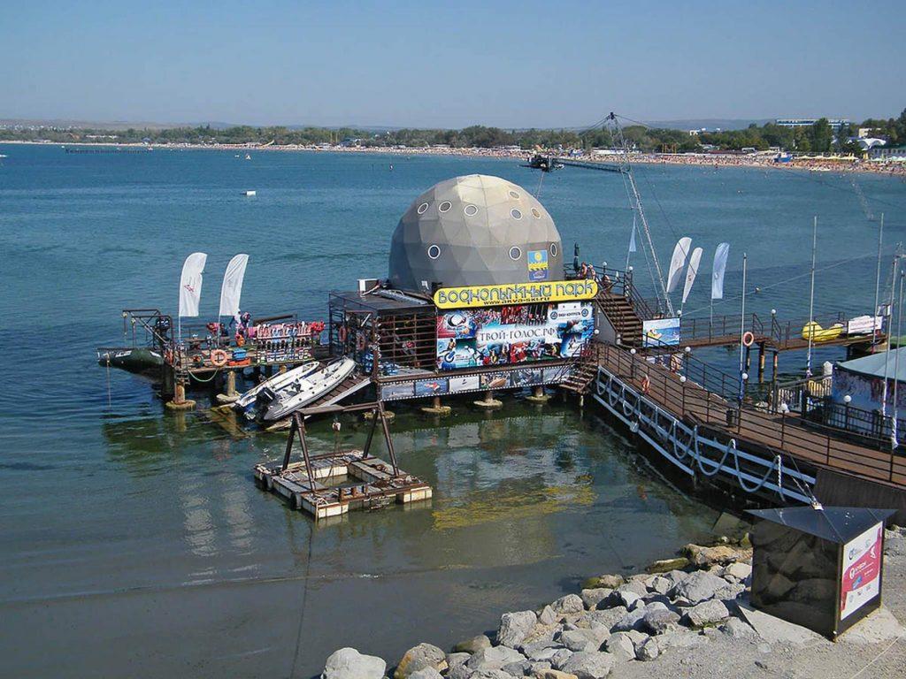 Воднолыжный парк «Море удовольствия» в Анапе