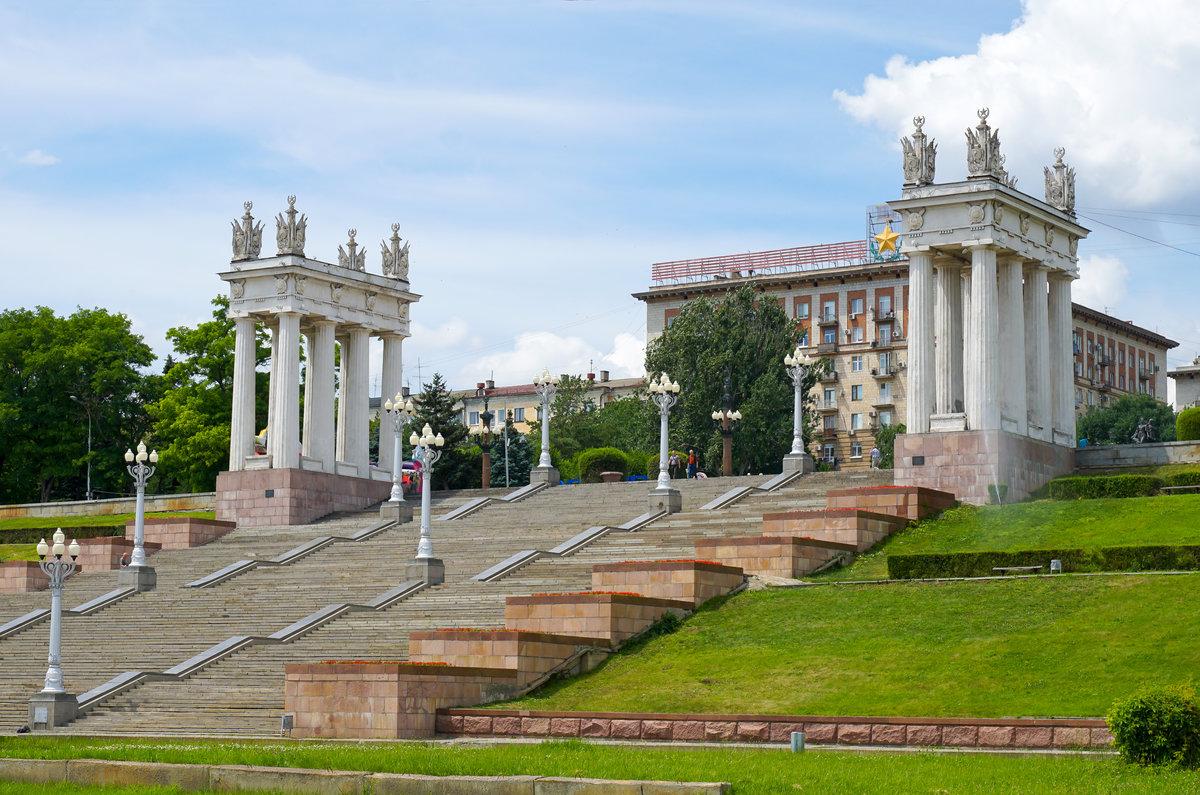 набережная 62 Армии Волгограда