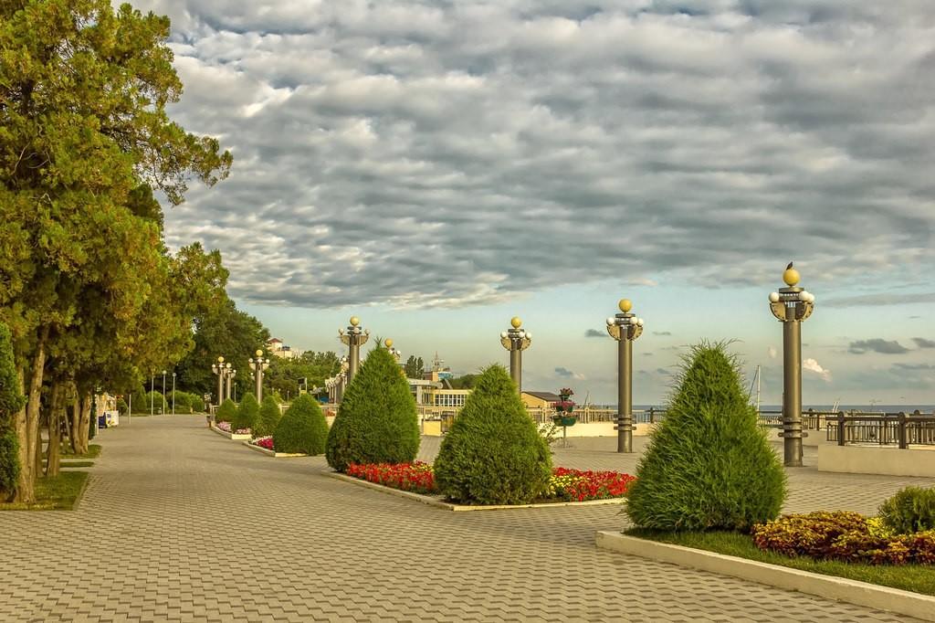 Центральная Набережная Анапы