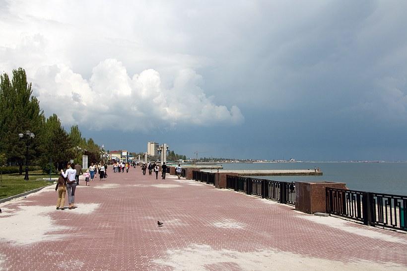 Обустройство набережной в Феодосии