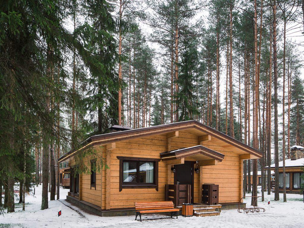 проживание Горнолыжный курорт Охта-Парк Ленинградской области