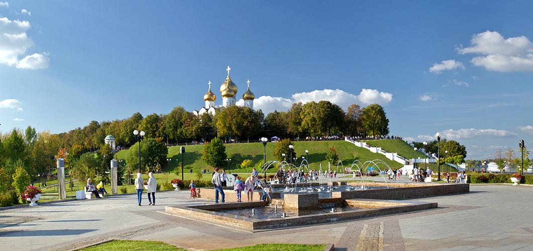 Парк «Стрелка» в Ярославле