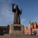 Памятник Патриарху Московскому и Всея Руси Алексию II
