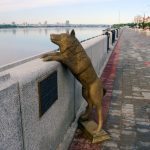 Памятник собаке по кличке Дружок