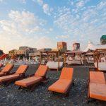 Пляж Мандарин на набережной Адлера