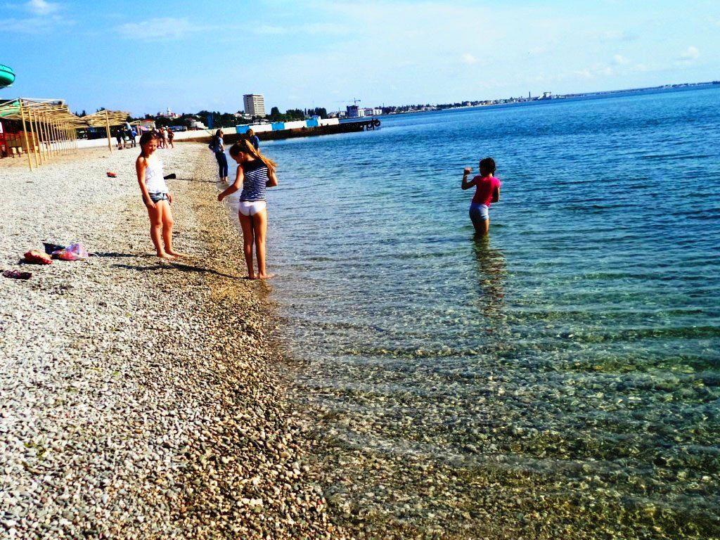Пляж «Камешки» в Феодосии