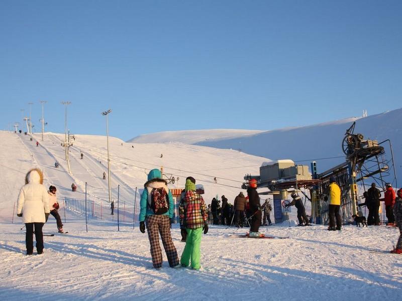 Трассы и подъемники горнолыжного курорта Большой Вудъявр