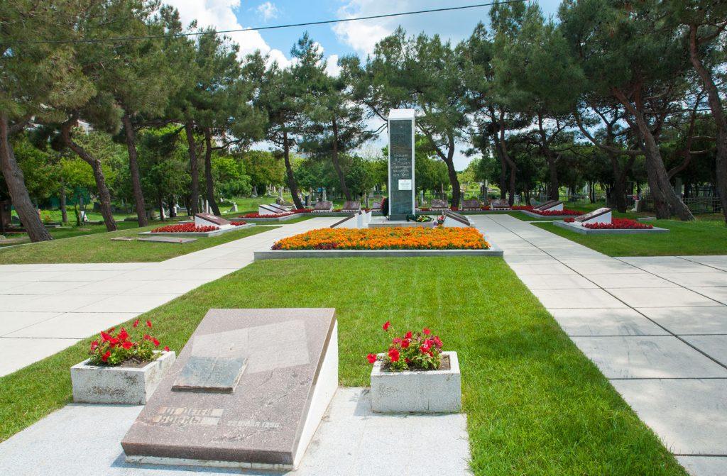 Сквер «Аллея Памяти» в Анапе