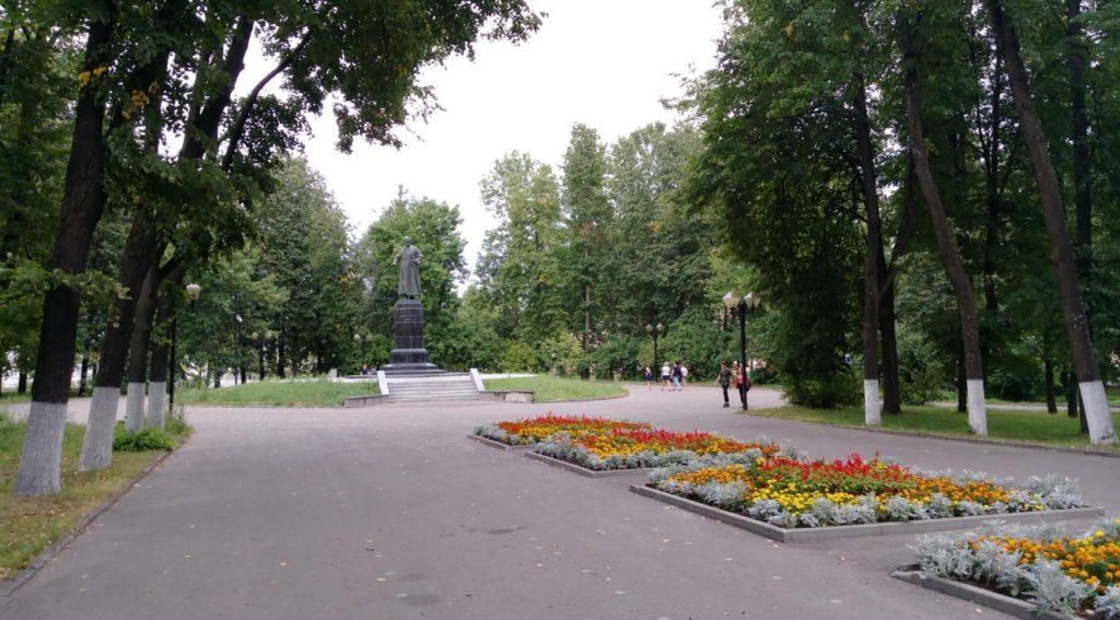 Сквер Фрунзе в Иваново
