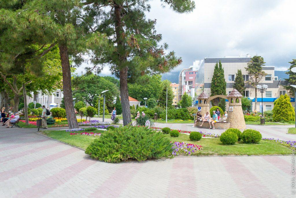 сквер города Хильдесхайма