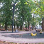 сквер писателя и декабриста А. А. Бестужева-Марлинского 1