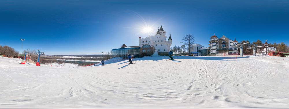 Горнолыжный комплекс Олимпик парк в Уфе