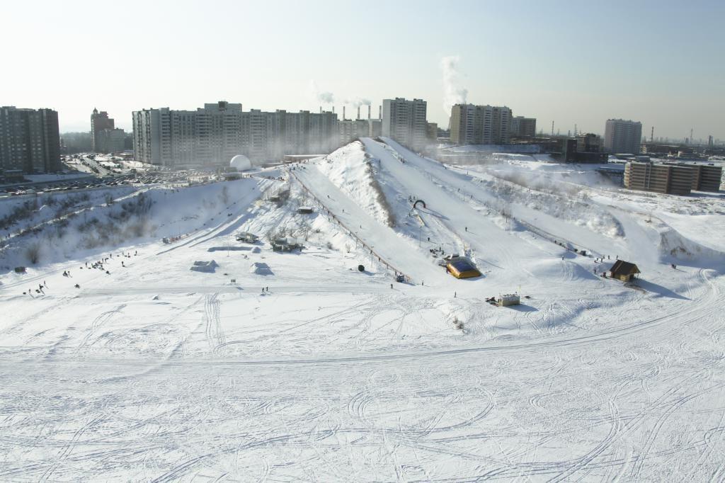 Горнолыжный комплекс Лата-Трэк в Крылатском