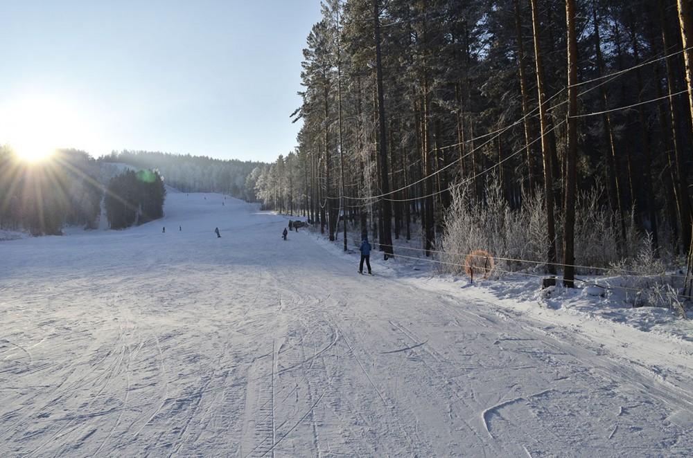 Горнолыжная база Олха в Иркутской области