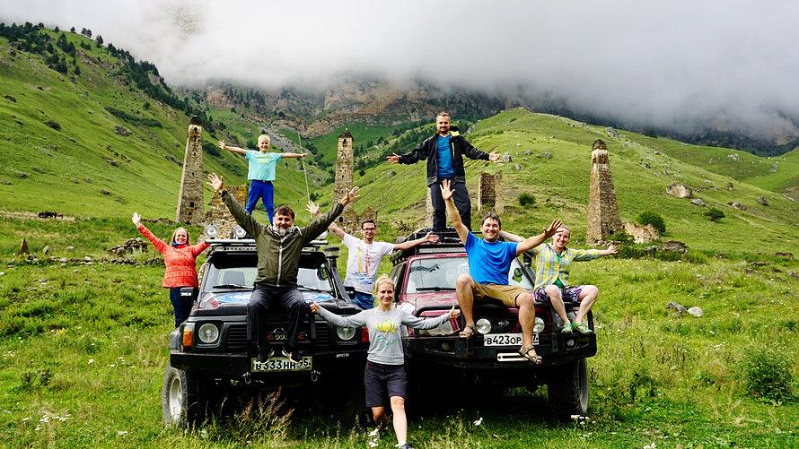 Летний отдых Горнолыжный курорт Армхи в Ингушетии