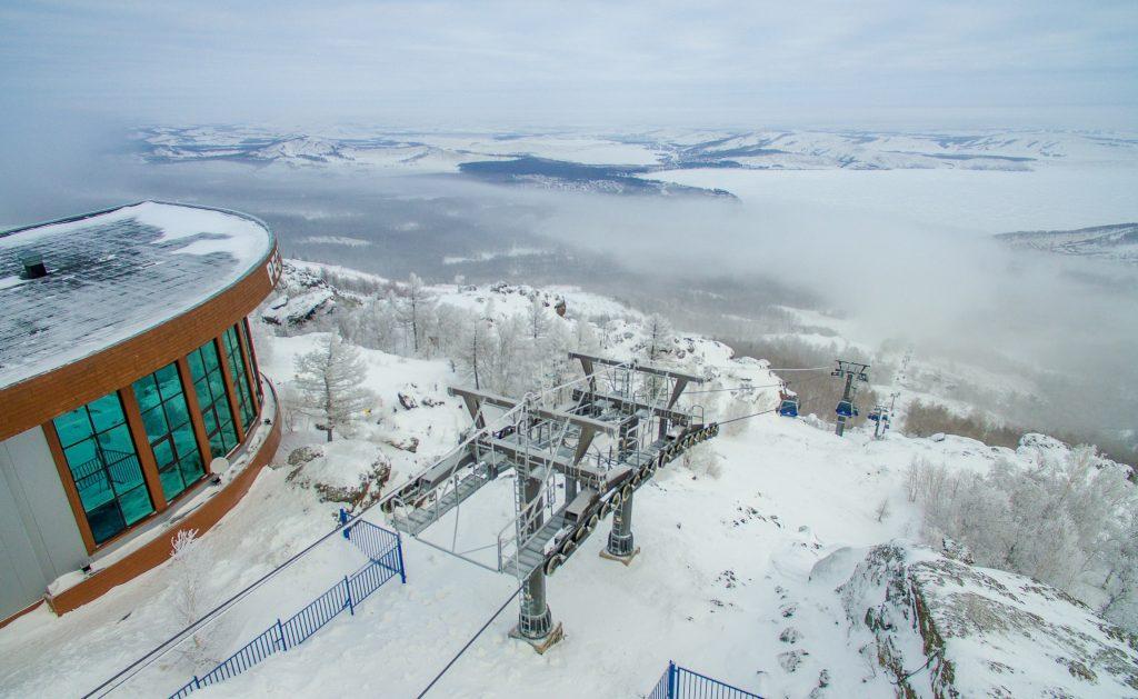Горнолыжный курорт Банное (Металлург-Магнитогорск)