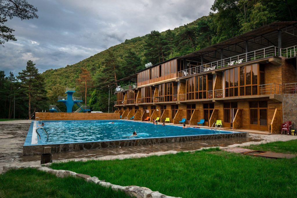 Горнолыжный курорт Армхи в Ингушетии