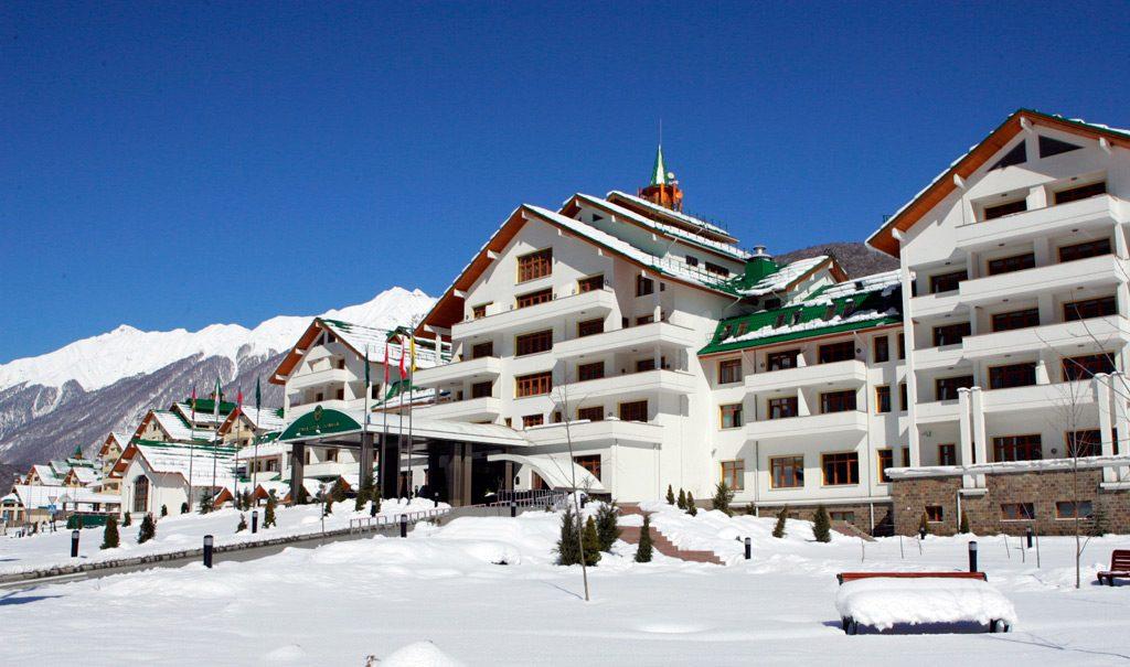 Отели и гостиницы горнолыжки Газпром